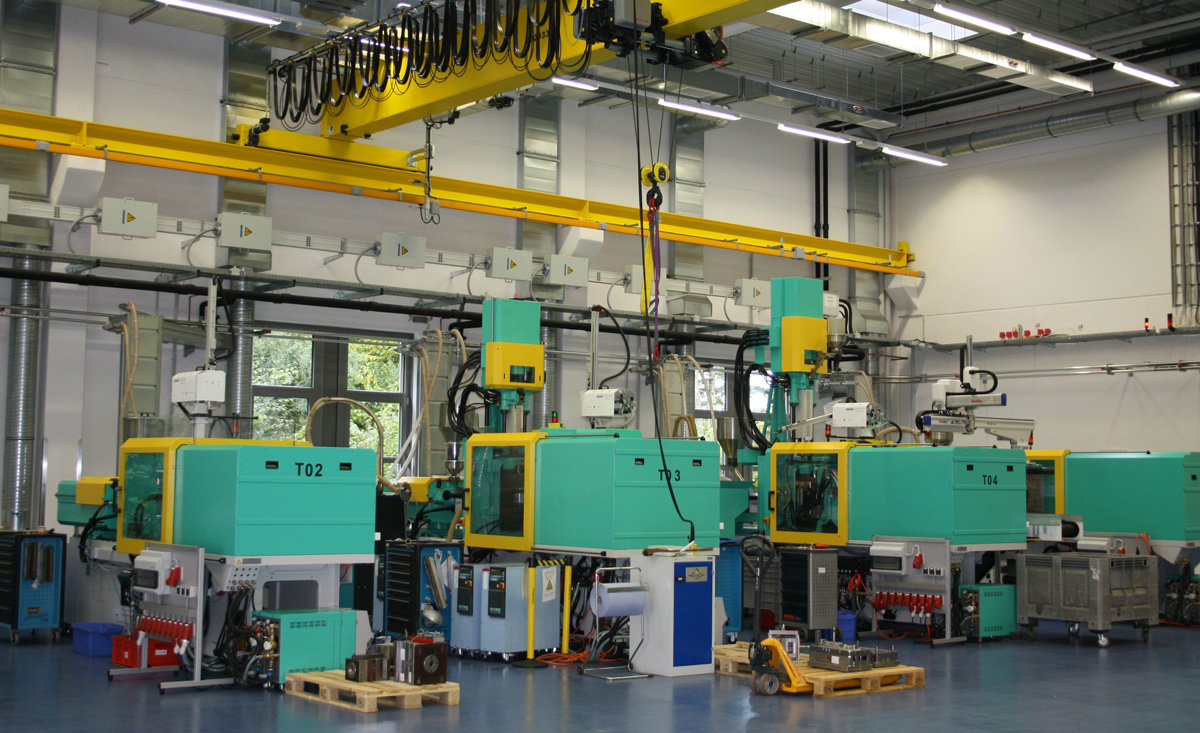 Plastics moulding competence bundled in purpose-built Technology Centre
