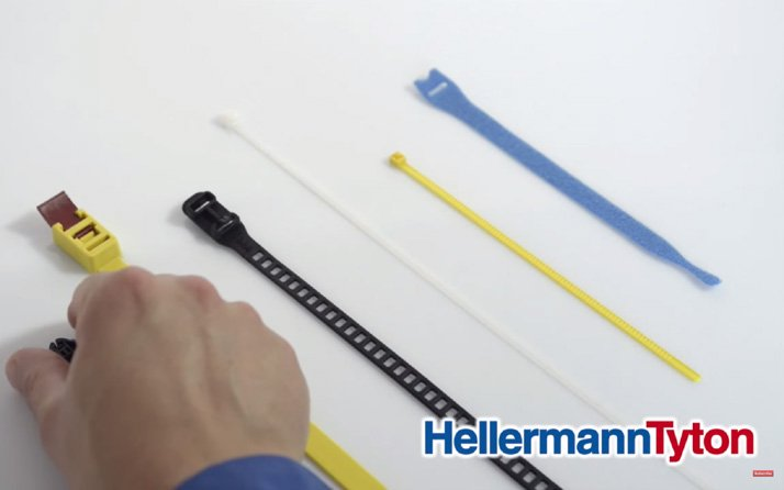 Why a top line-up of releasable cable ties makes a winning team