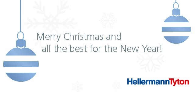B2B Christmas wishes HellermannTyton digital